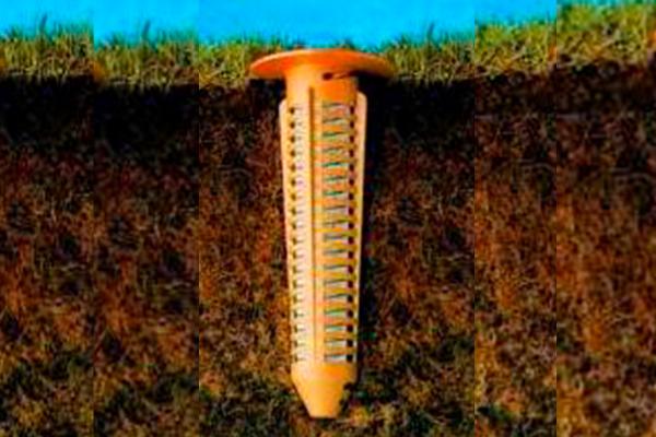 Sistema de Cebos para eliminar Termitas